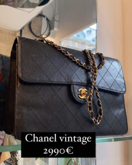 Sac Chanel Timeless noir