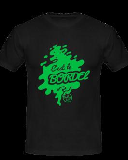 "Tee-shirt ""c'est le bordel"" vert"